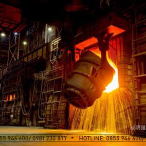 Vật liệu chịu lửa cho ngành thép炼钢耐火材料